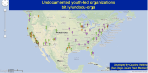 http://sandiegodreamteam.wordpress.com/resources/undocumented-youth-led-orgs/