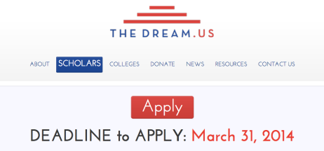 Find more information at: http://thedream.us/scholars/